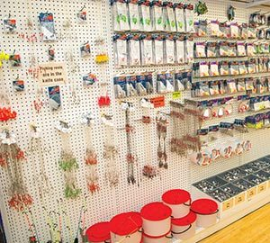 fishing bait and tackle