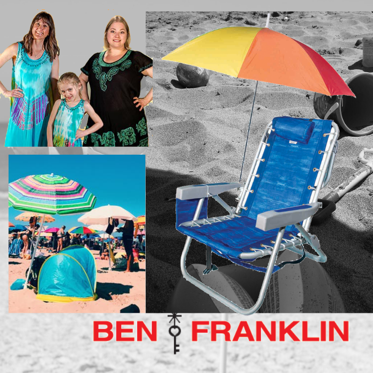 Nags Head Beach Umbrellas And Accessories Nags Head Ben Franklin