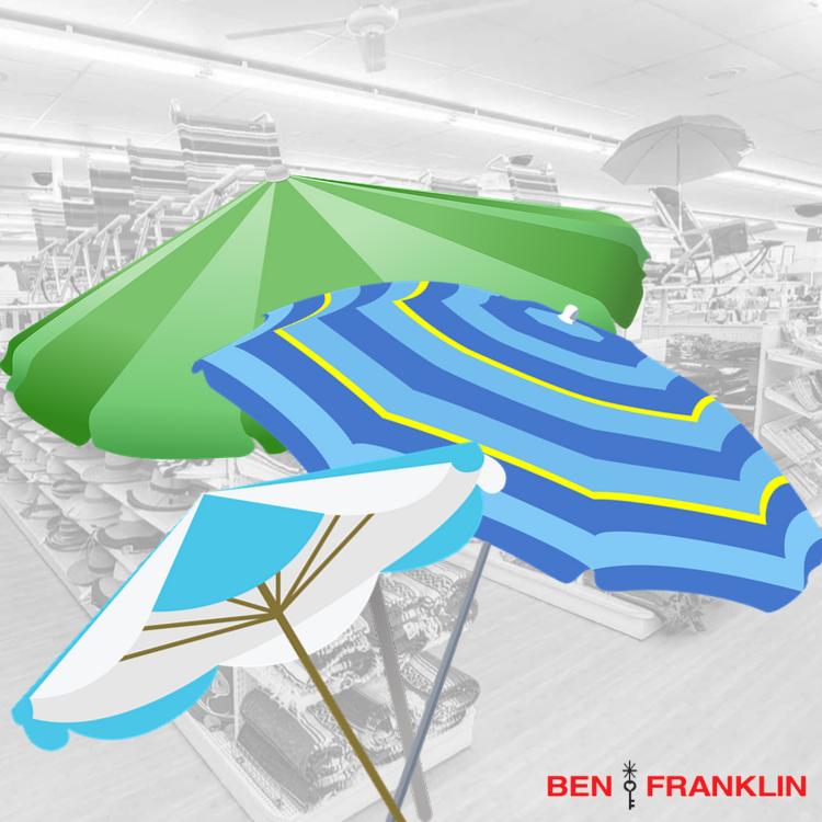 beach umbrella selection